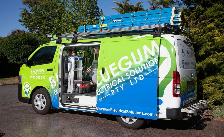 Bluegum Electrical Van
