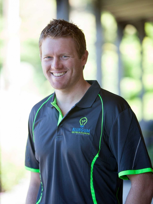 Josh Gilbert, Head Electrician, Bluegum Electrical Solutions