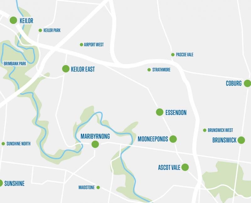 map-Maribyrnong-area