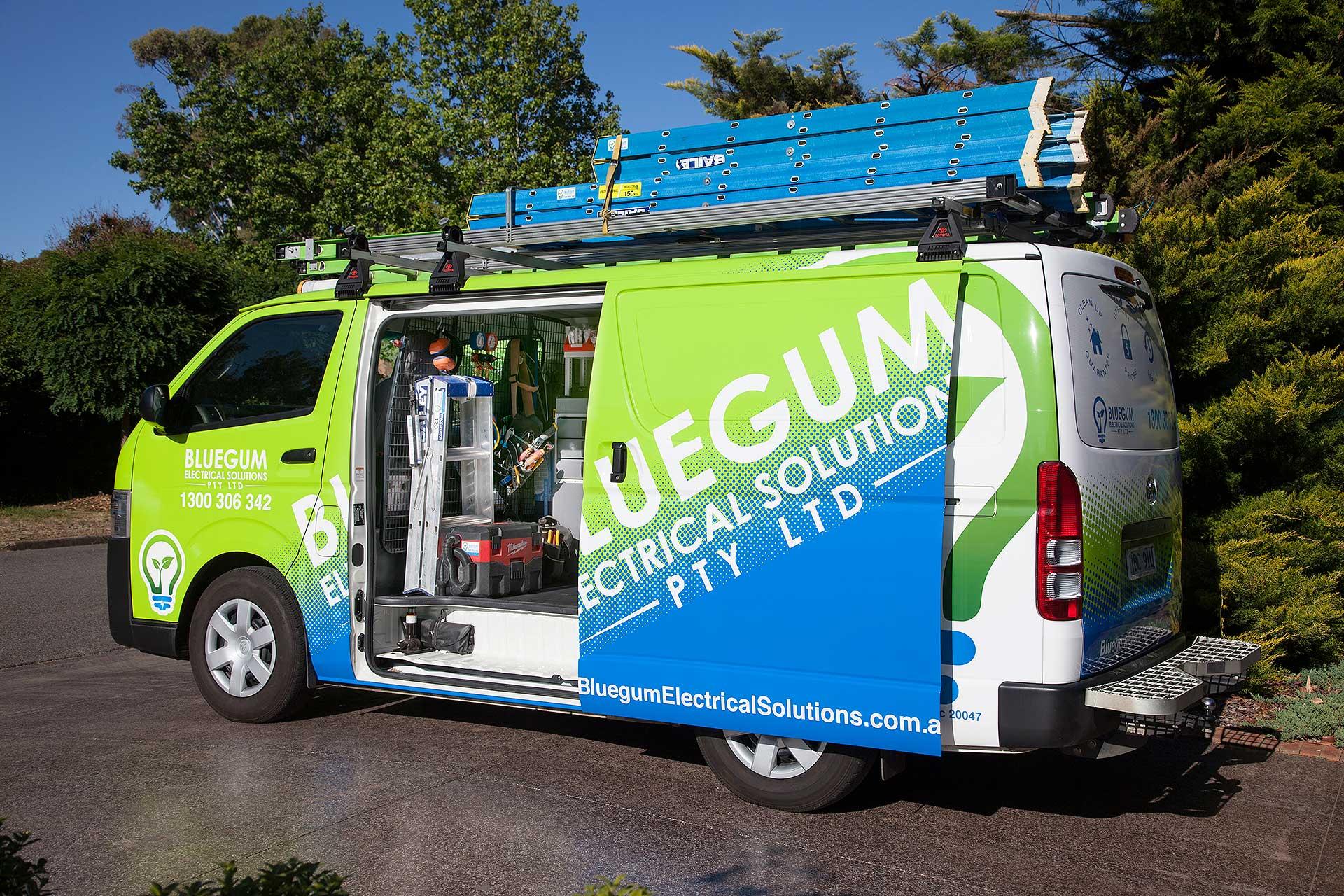 Bluegum Electrical Van